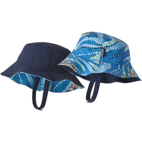 Patagonia Sun Bucket Hat Kids bell bay/port blue